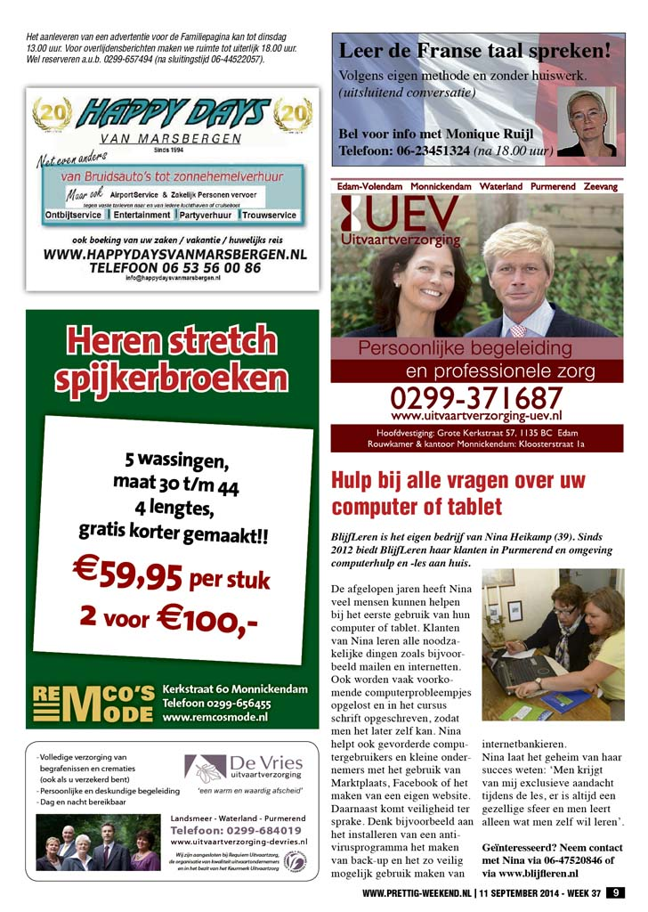 Artikel over BlijfLeren in Prettig Weekend