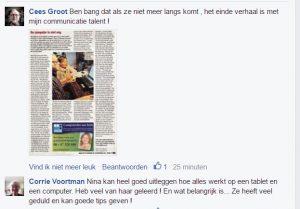 reactie facebook 2
